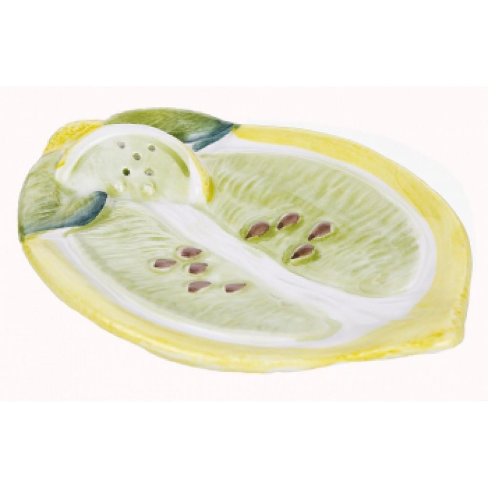 Тарелочка для лимона Лимонный ломтик