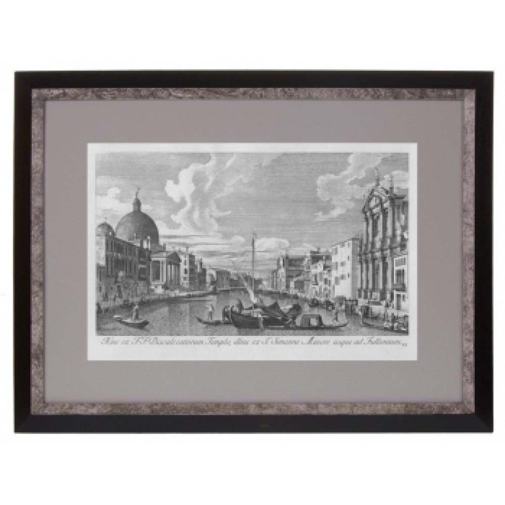 Постер в раме Виды Венеции. Каналетто 36