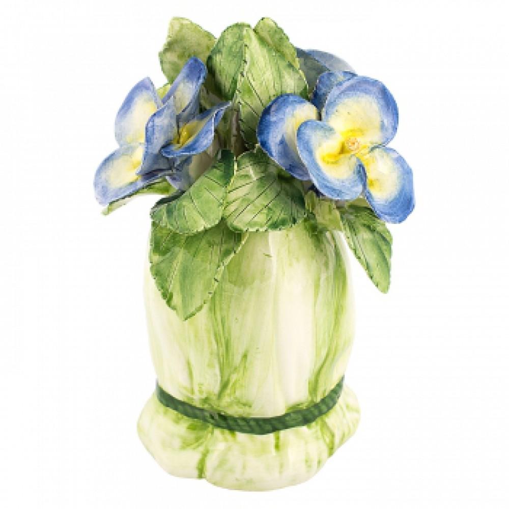 Декоративное украшение Букетик синий