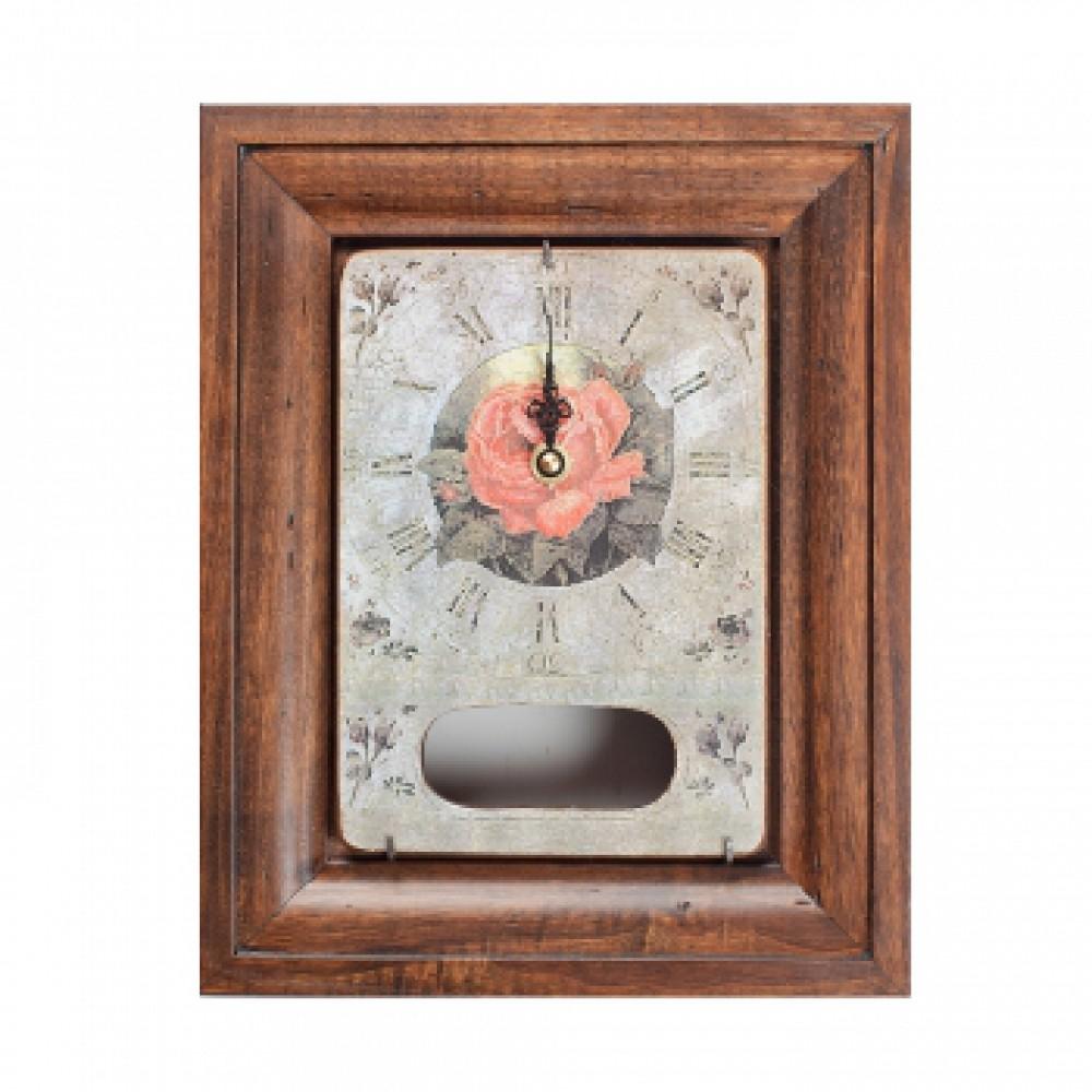 Часы с маятником Роза