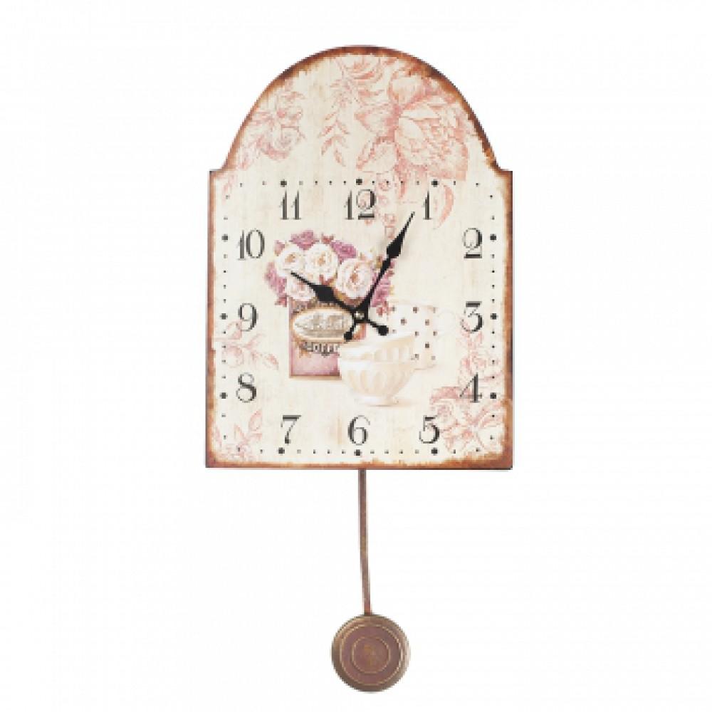 Часы с маятником Добрый вечер