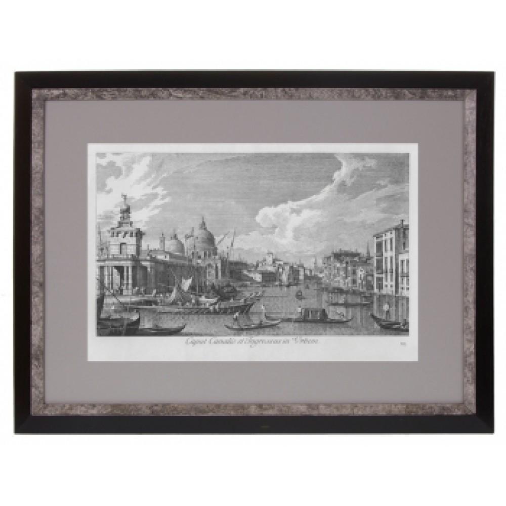 Постер в раме Виды Венеции. Каналетто 26