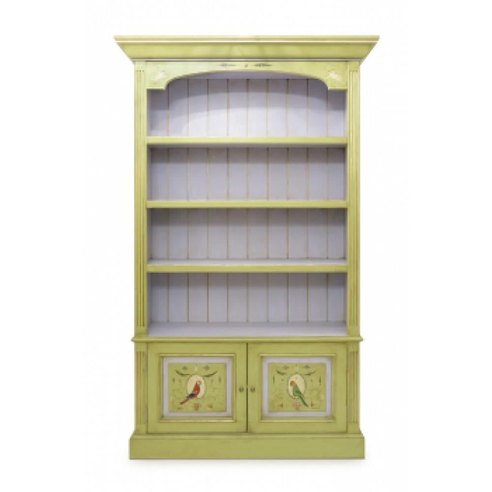 Шкаф с росписью Попугаи