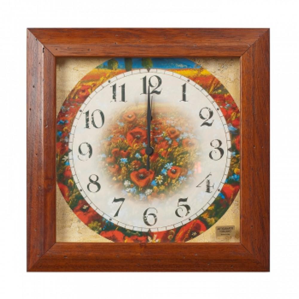 Часы настенные Маки