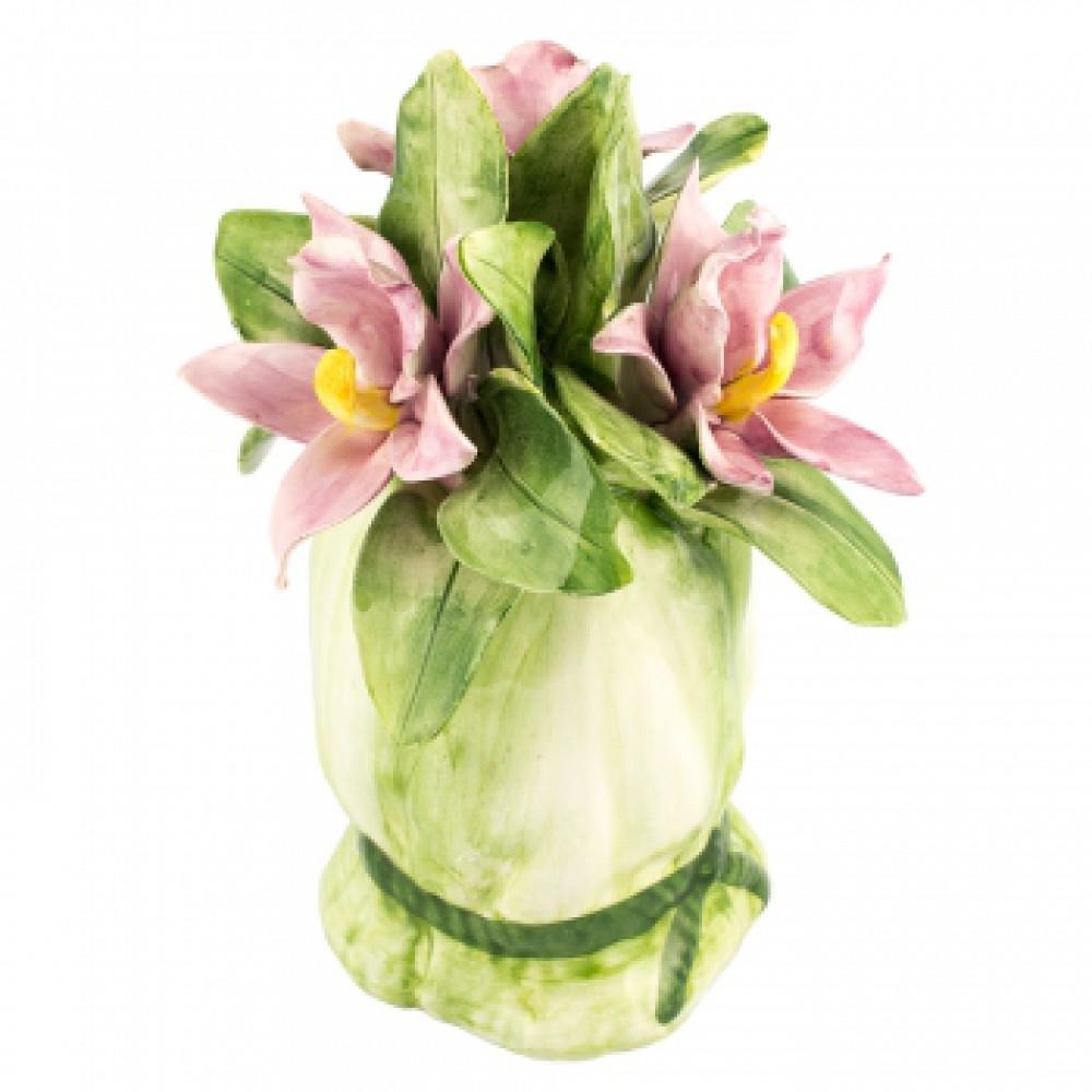 Декоративное украшение Букетик розовый