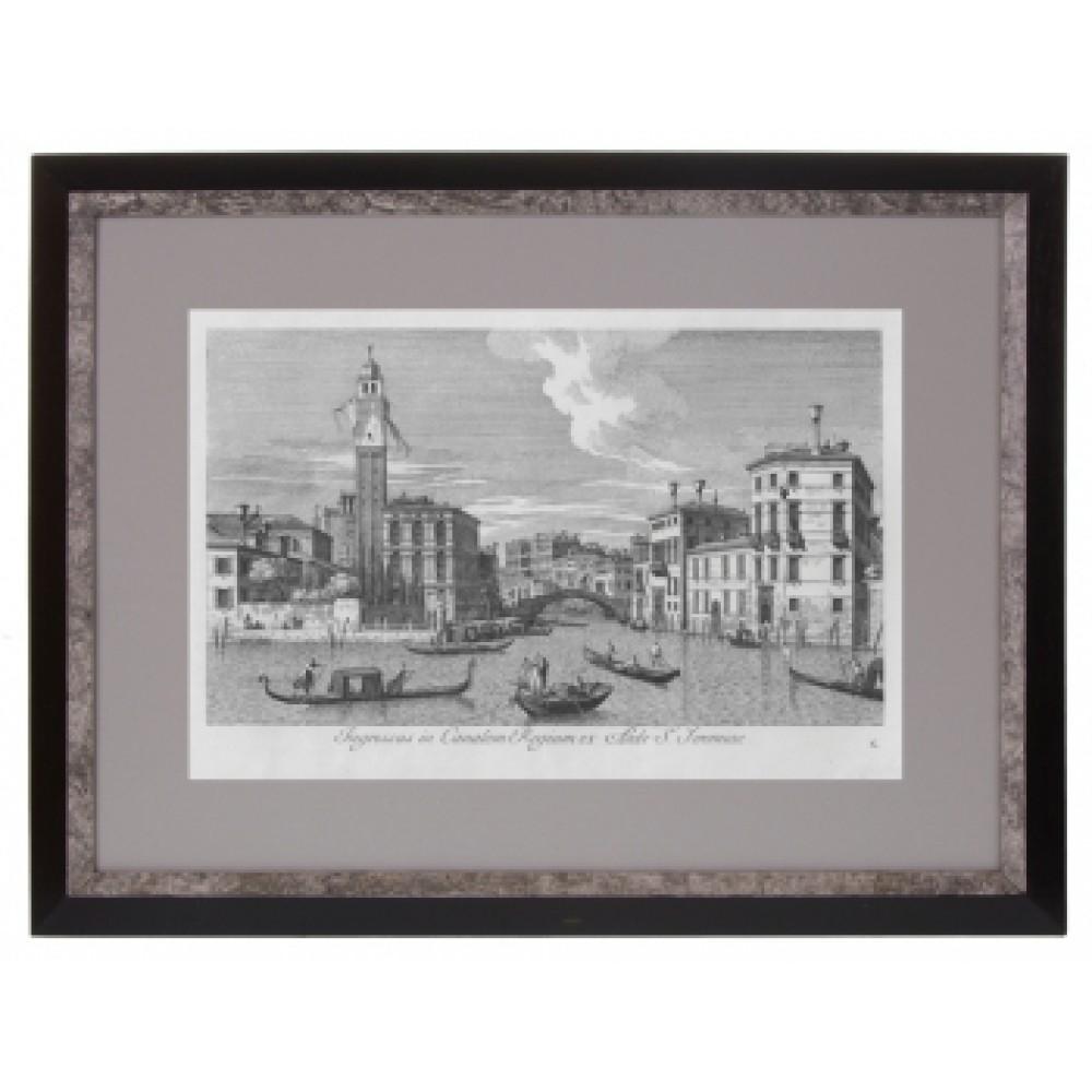 Постер в раме Виды Венеции. Каналетто 34