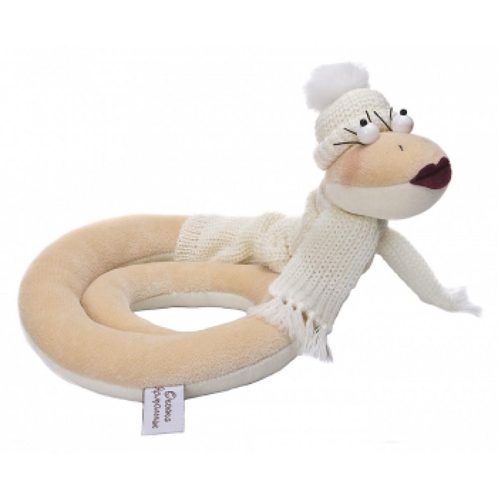 Авторская игрушка О.Ярмольник Змея в свитере