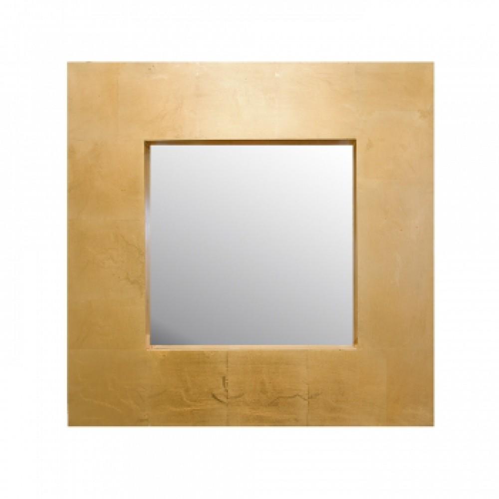 Зеркало в раме Италия Золотой квадрат