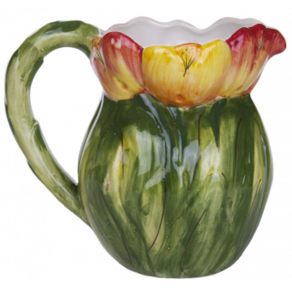 Кувшин Италия Тюльпаны