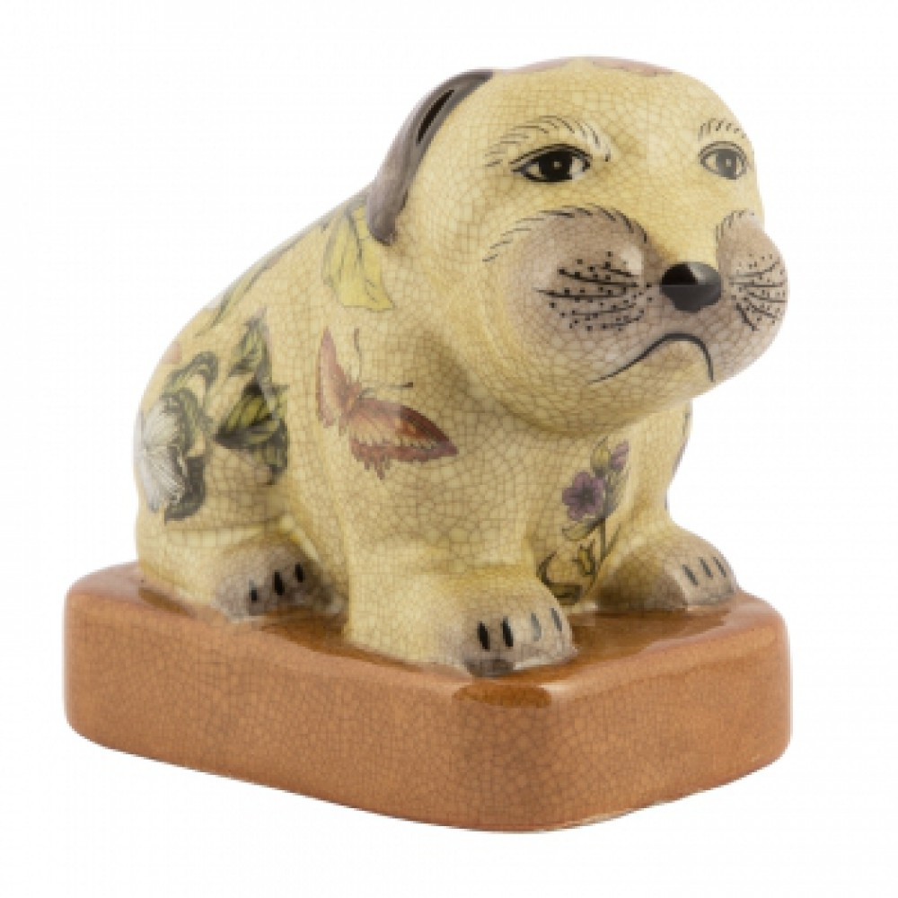 Фигурка Собака c кракелюром