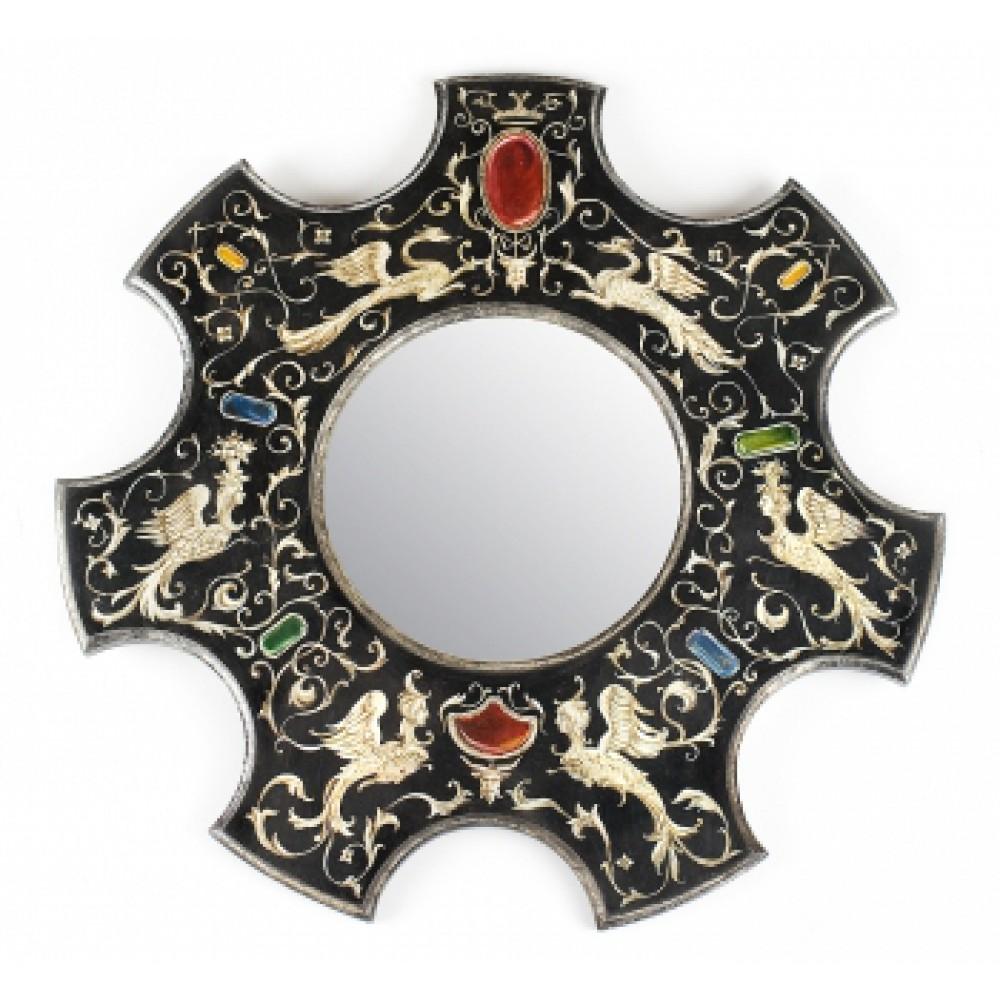 Зеркало с росписью Ренессанс