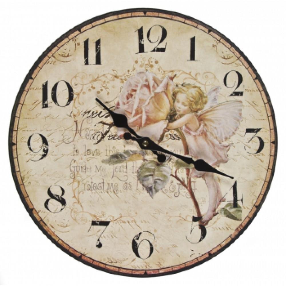 Часы настенные Добрый день Фея