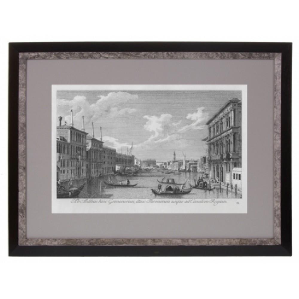Постер в раме Виды Венеции. Каналетто 32