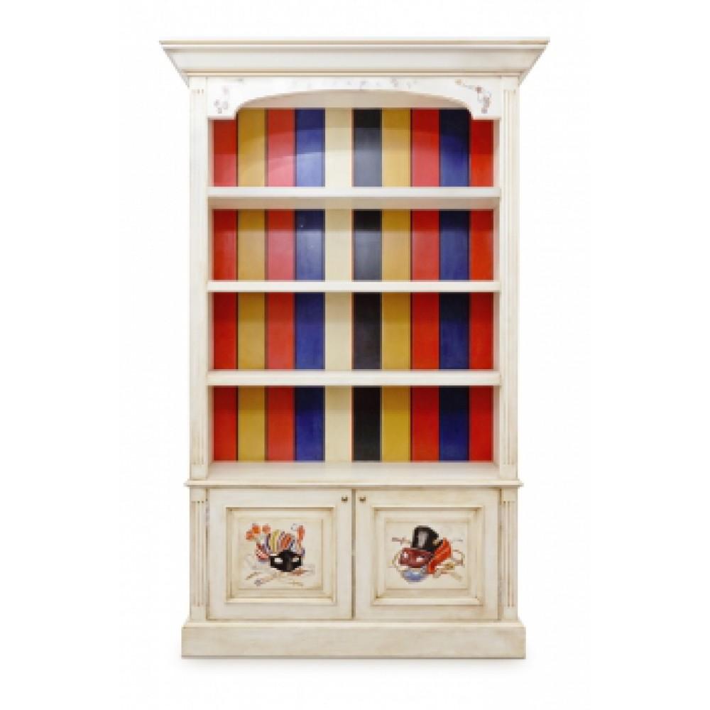 Шкаф с росписью Маскарад