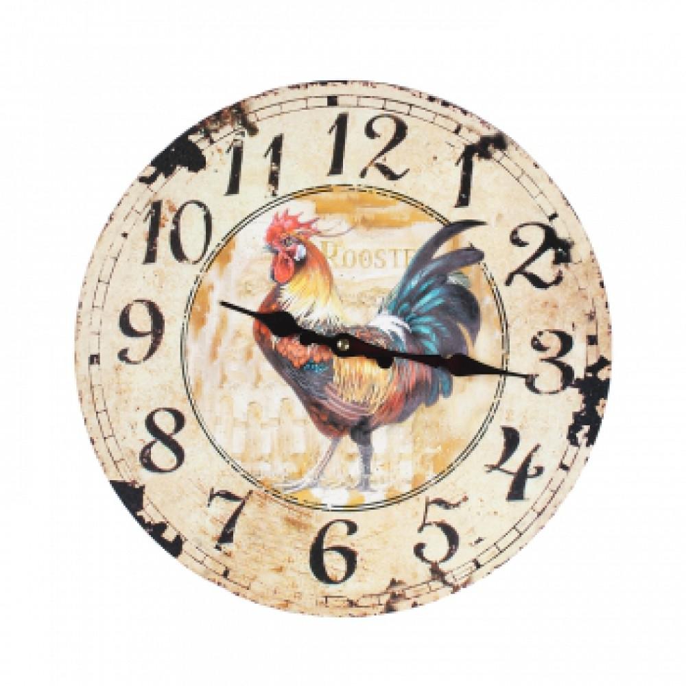 Часы настенные Добрый день Петух