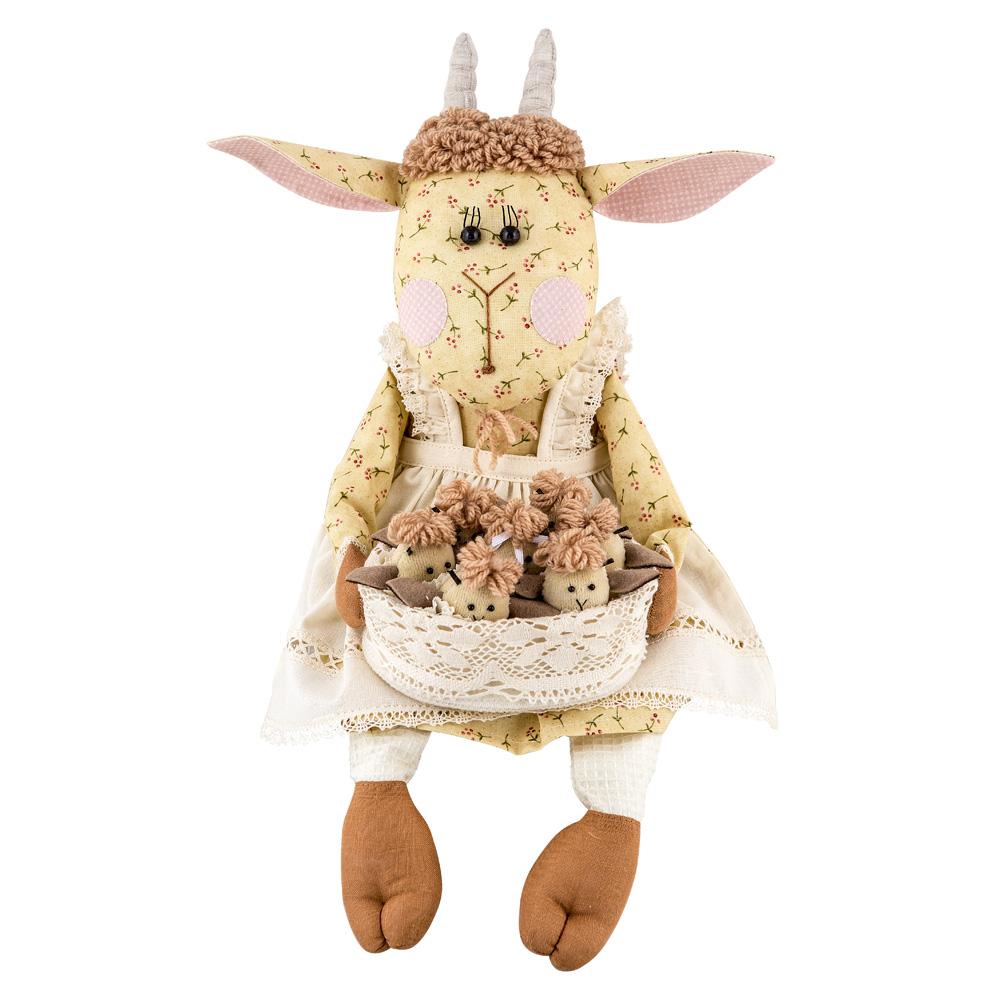 Авторская игрушка О.Ярмольник Коза и семеро козлят