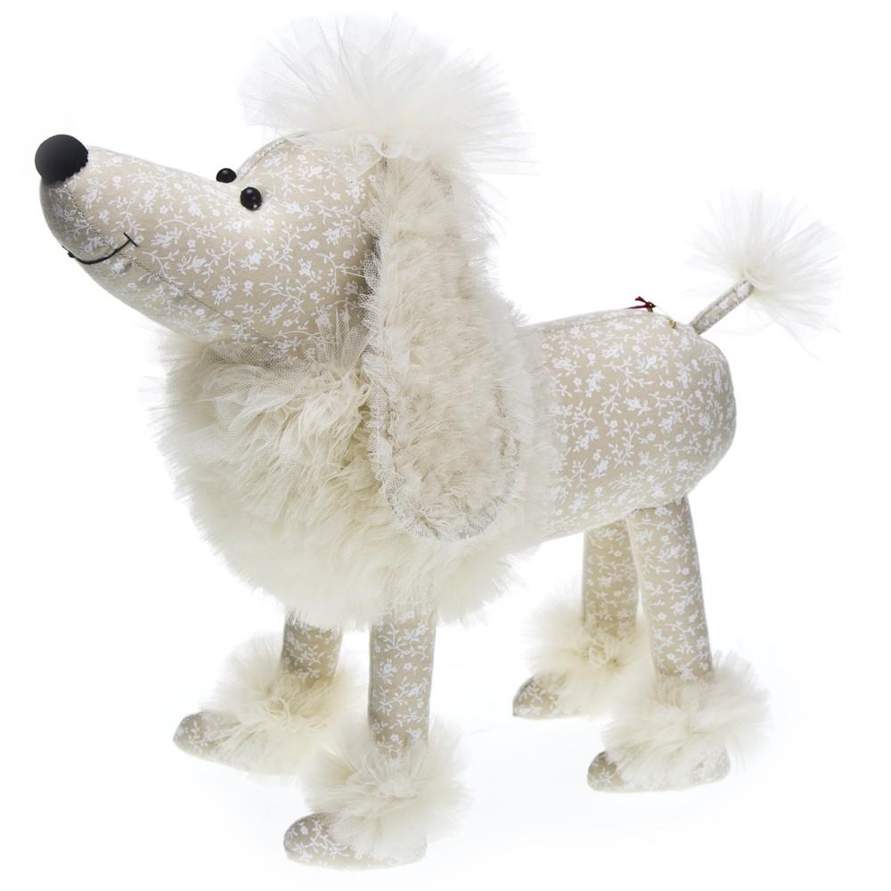 Авторская игрушка О.Ярмольник Собака Пудель
