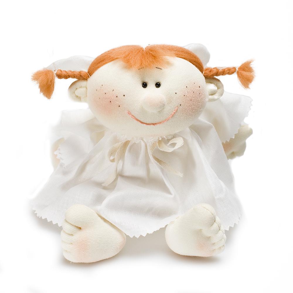 Авторская игрушка О.Ярмольник Ангел в платье девочка