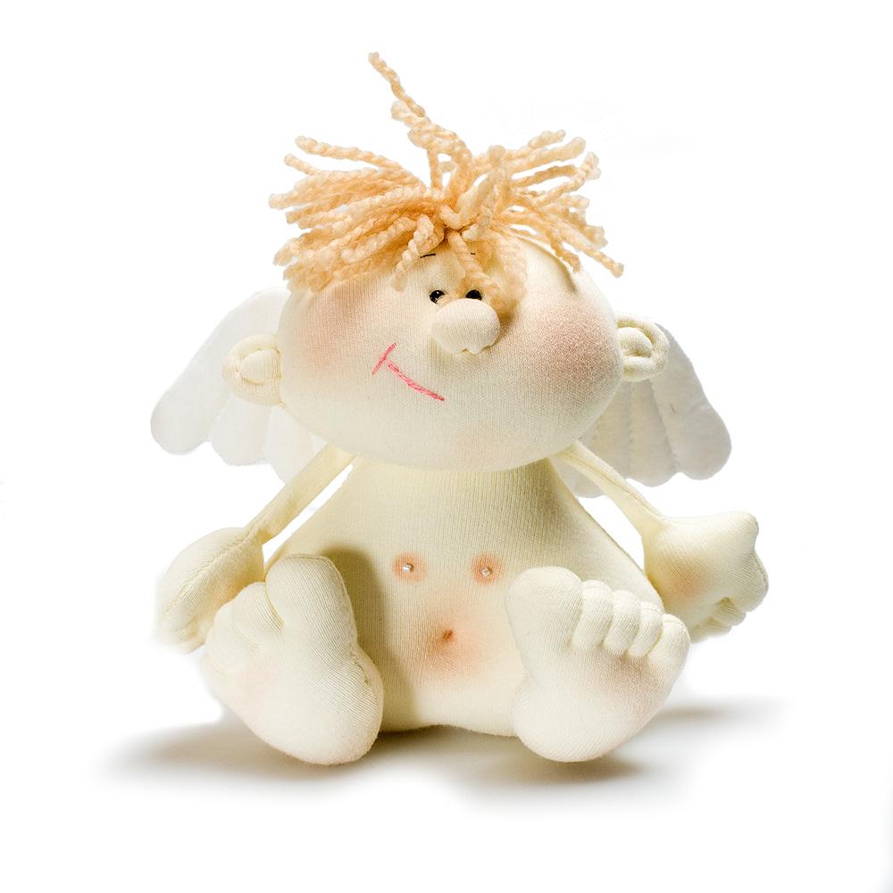 Авторская игрушка О.Ярмольник Ангел мальчик
