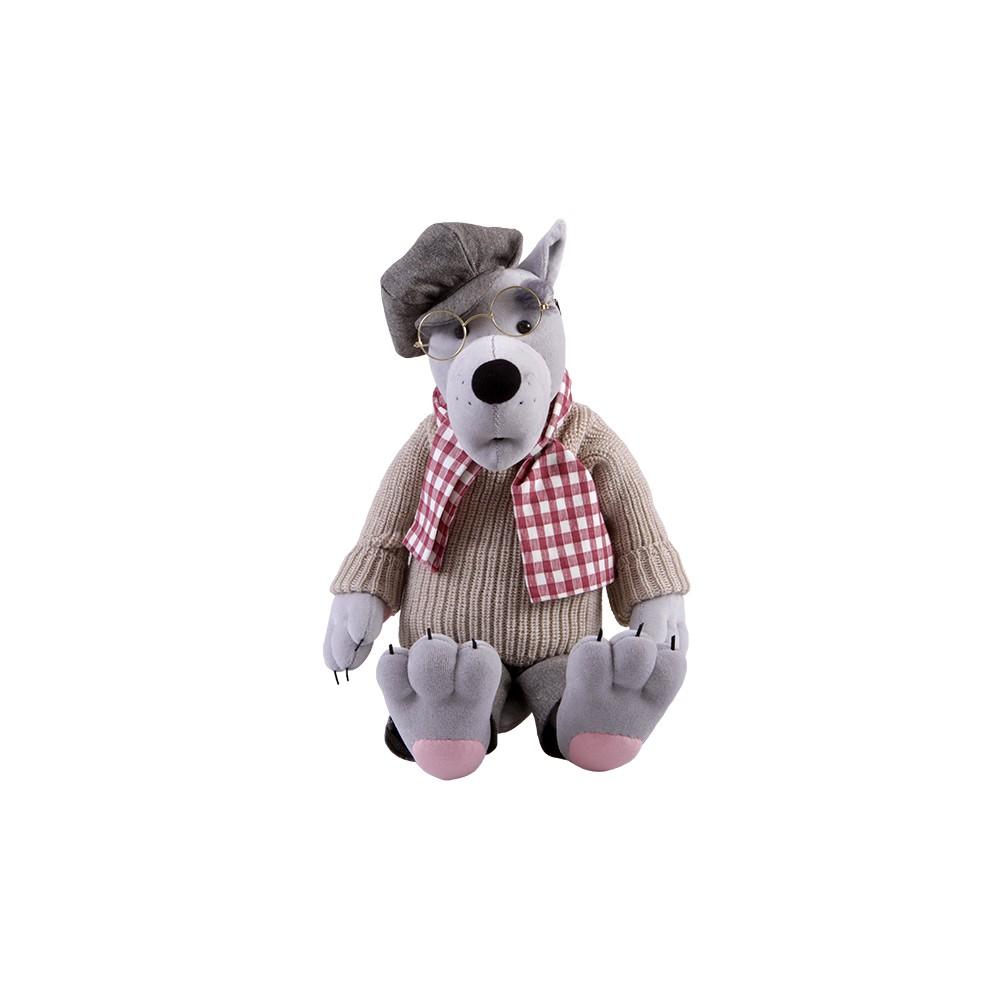 Авторская игрушка О.Ярмольник Серый Волк