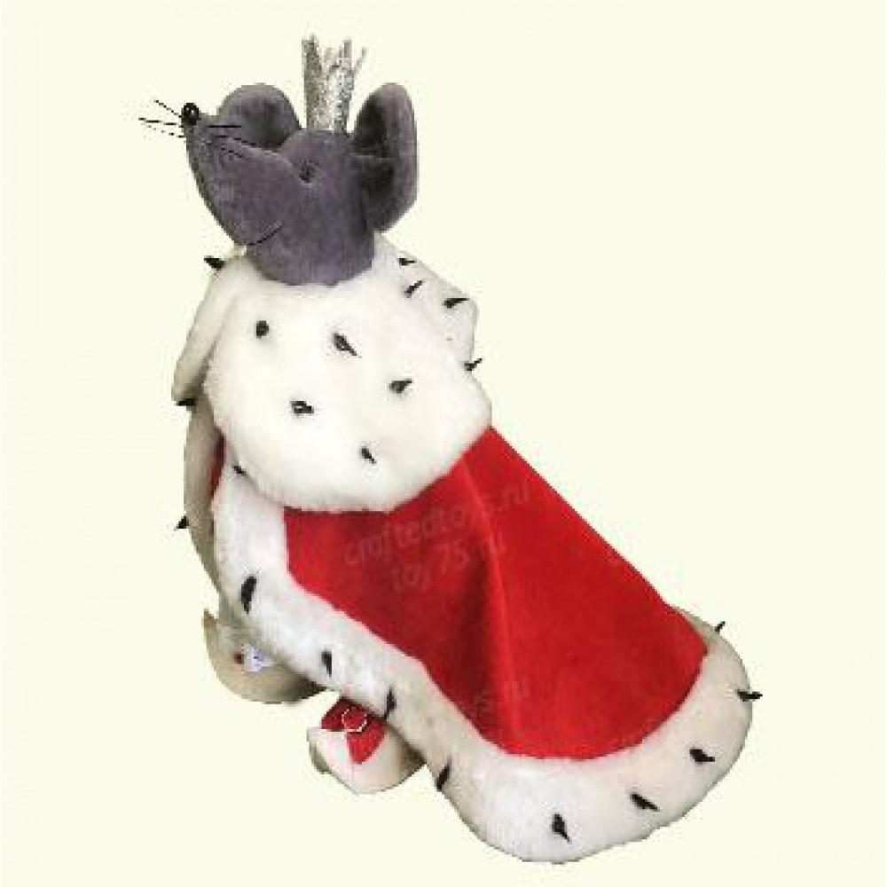 Авторская игрушка О.Ярмольник Мышиный Король