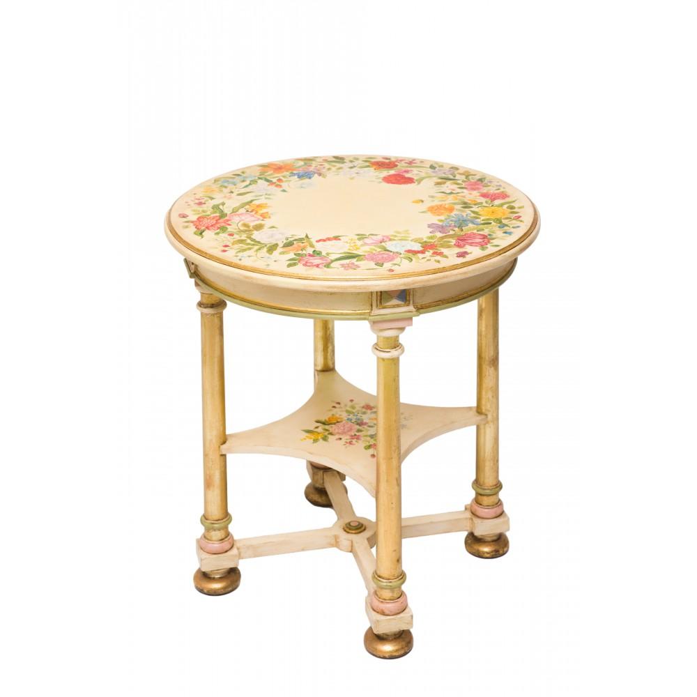 Стол с росписью Цветущий сад