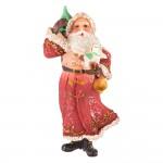 Ёлочная игрушка Дед Мороз с ёлочкой