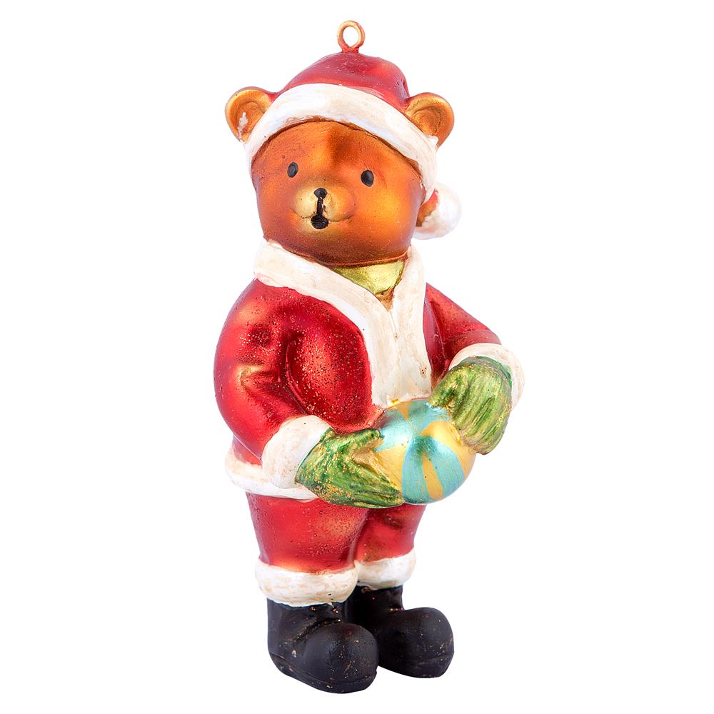 Ёлочная игрушка Мишка новогодний