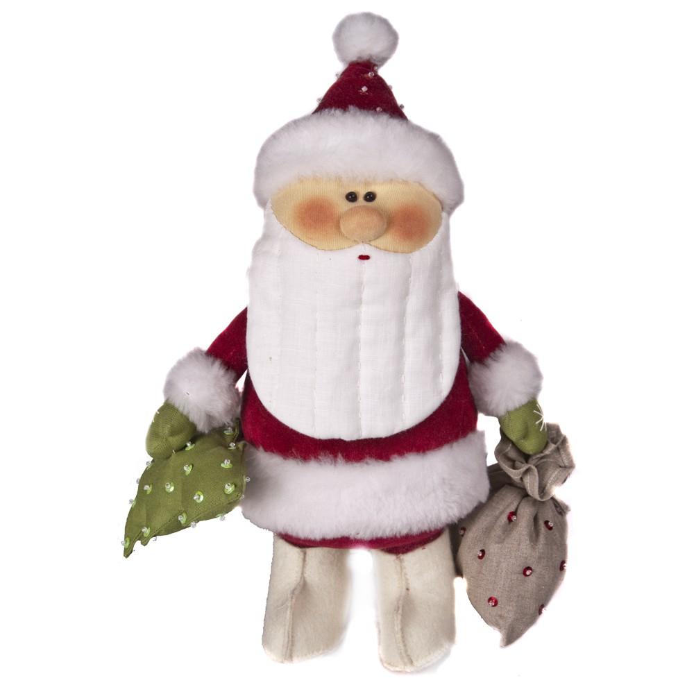 Авторская игрушка О.Ярмольник Дед Мороз с Елочкой