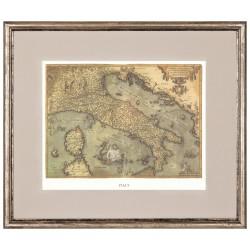 Постеры с изображением античных карт