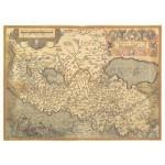 Постер в раме Античные карты 11