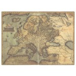 Постер в раме Античные карты 12