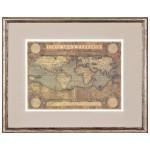 Постер в раме Античные карты 13