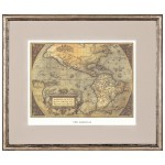 Постер в раме Античные карты 02