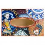 Салфетница с росписью Королевский герб