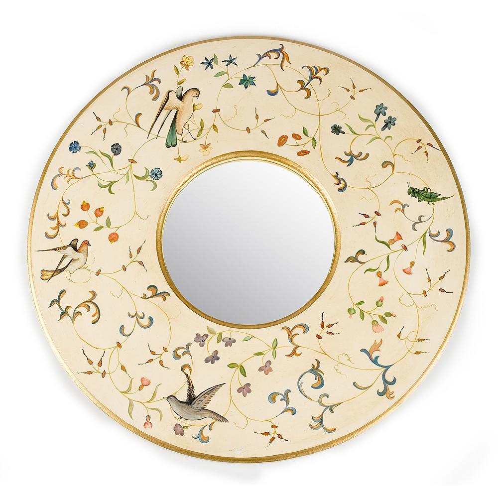 Зеркало с росписью Райский сад