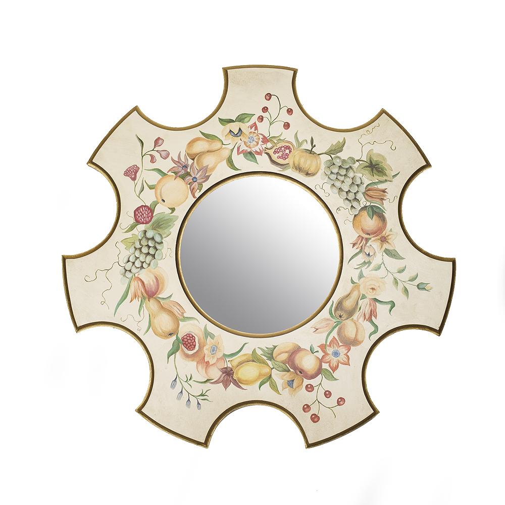 Зеркало с росписью Натюрморт