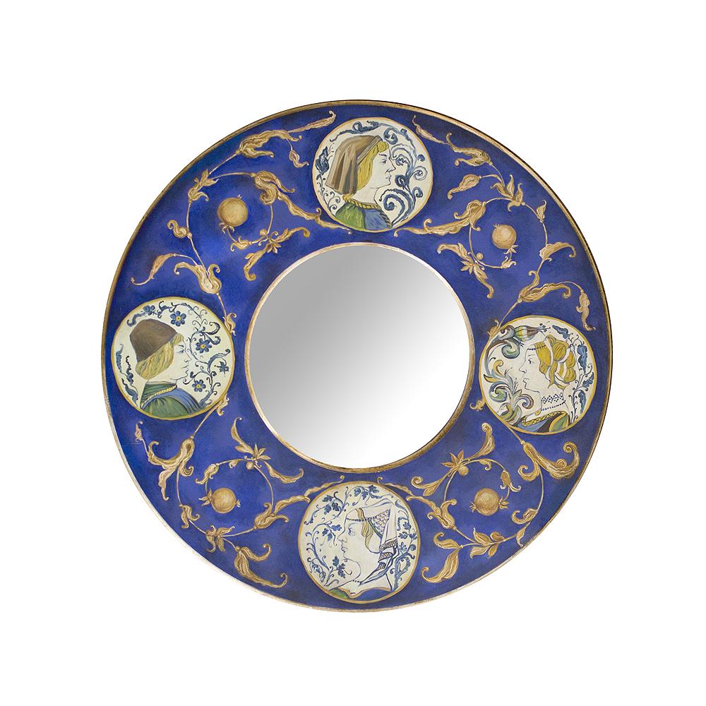 Зеркало с росписью Монтуанское