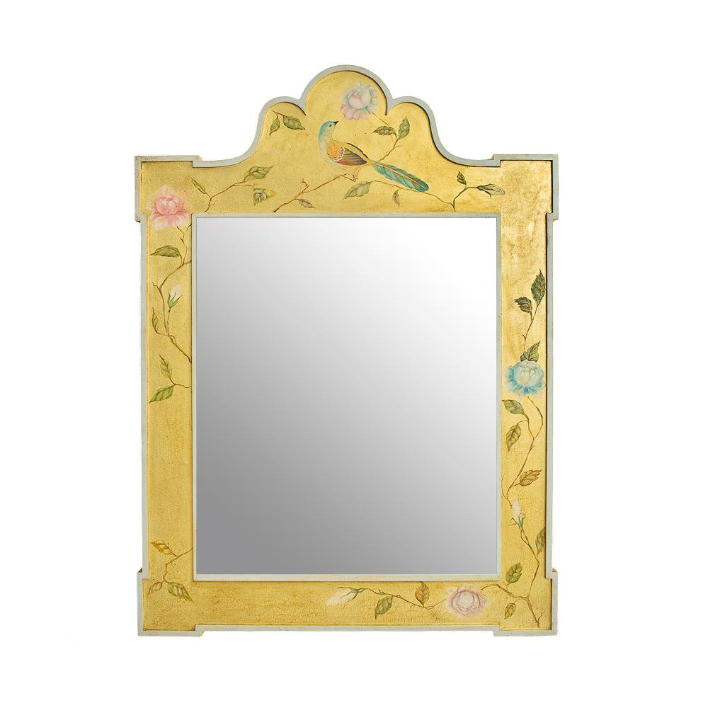 Зеркало с росписью Райские птицы