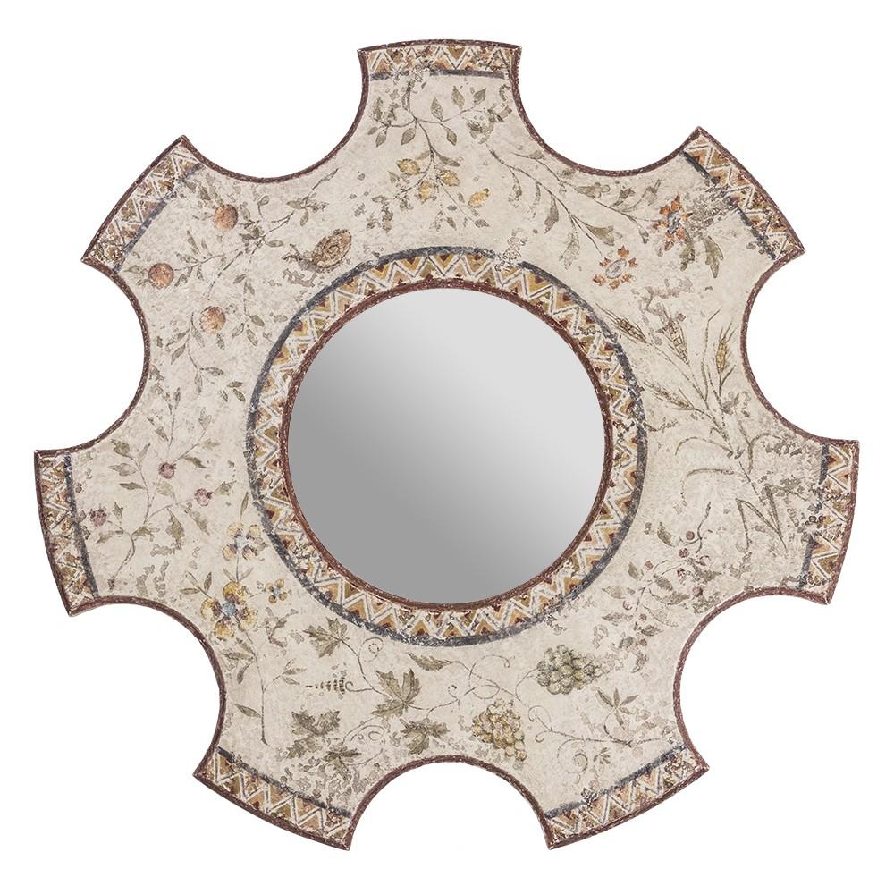 Зеркало техника фреска Шестеренка